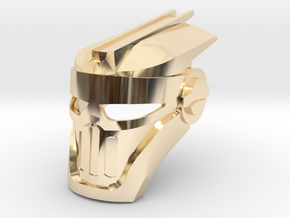 Kanohi Mahiki in 14k Gold Plated Brass