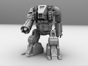 HeadLess Mecha 1/285 6mm in White Strong & Flexible