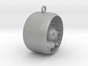 Cat pendant in Aluminum