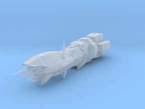 SCI FI Deep Space Thorn class Cruiser, high detail in Smoothest Fine Detail Plastic
