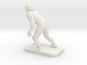 Defensive Back in White Natural Versatile Plastic