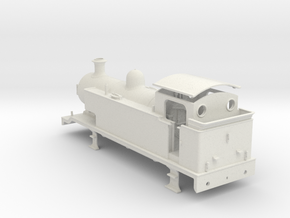 LB&SCR E2-X  - V0 Freelance - Body WSF in White Natural Versatile Plastic