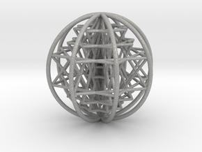 3D Sri Yantra 8 Sided Optimal Large in Aluminum