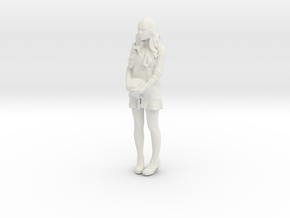 Printle F Millie Bobby Brown - 1/18 - wob in White Natural Versatile Plastic