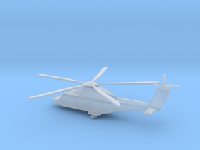 1/285 Scale AW169M Helicopter in Smooth Fine Detail Plastic