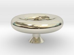 燈罩 in 14k White Gold