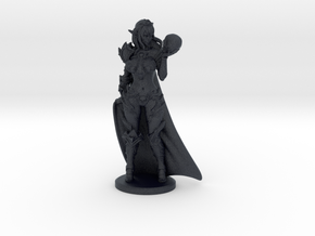 Dark Queen w Cape Mini - 40mm in Black PA12
