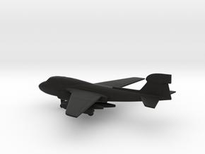 Northrop Grumman EA-6B Prowler in Black Natural Versatile Plastic: 1:200