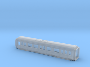 S stock MS Carriage Bodyshell in Smooth Fine Detail Plastic