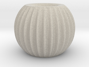 Orb Rib in Natural Sandstone