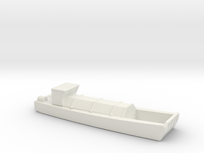 1/285 Scale British LCVP Waterline in White Natural Versatile Plastic