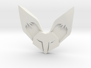 Fennec3D.com Fox Logo Fridge Magnet in White Natural Versatile Plastic