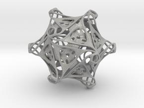 Icosahedron modified organic  in Aluminum