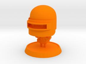 Battle Royale1  in Orange Processed Versatile Plastic