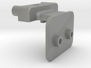Symmetric M05 Battery Mount (Left Side) in Gray Professional Plastic
