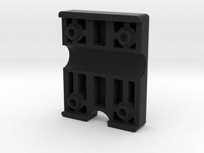 LockableGarmin 395 Base Plate - Back Clip in Black Natural Versatile Plastic