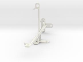 Xiaomi Redmi Note 5 AI Dual Camera tripod mount in White Natural Versatile Plastic