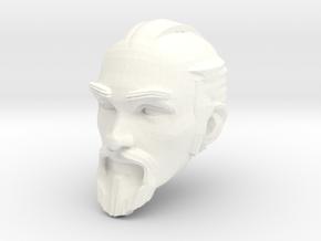 dwarf head 1 in White Processed Versatile Plastic