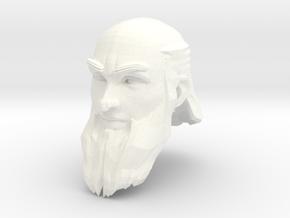 dwarf head 3 in White Processed Versatile Plastic