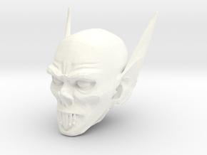 vampire head 1 in White Processed Versatile Plastic