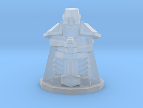Heroic-Scale Low Poly Dwarf in Smooth Fine Detail Plastic