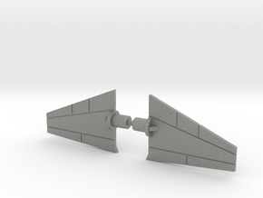 Giant Acroyear Acrojet Tailfins in Gray Professional Plastic