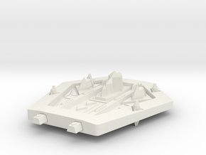 PH202A Hrastyukar-Za Escort Cruiser in White Natural Versatile Plastic