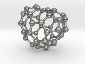 0676 Fullerene c44-48 c1 in Natural Silver