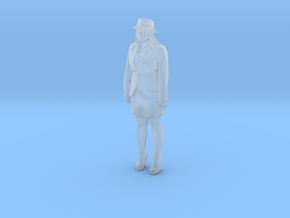 Printle C Femme 132 - 1/50 - wob in Smooth Fine Detail Plastic