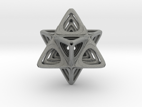 Sacred Merkaba nested in Gray PA12