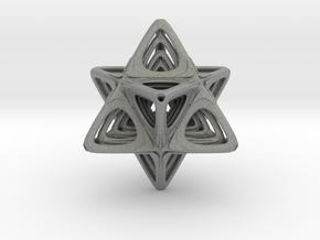 Sacred Merkaba nested in Gray Professional Plastic