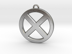 Keychain - Necklace - Xmen in Natural Silver