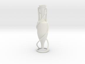 Vase 743AFR in White Natural Versatile Plastic