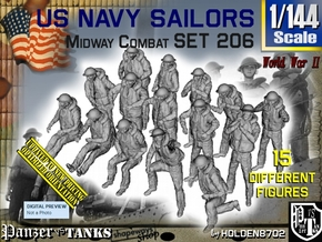 1/144 USN Midway set 206 in Smooth Fine Detail Plastic