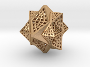 Tetra Cube octa Family Compound in Natural Bronze