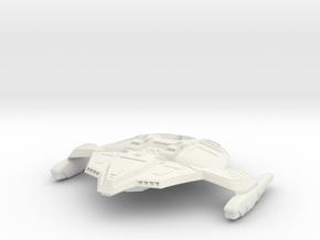 2500 Dominion Jem'hadar fighter in White Natural Versatile Plastic