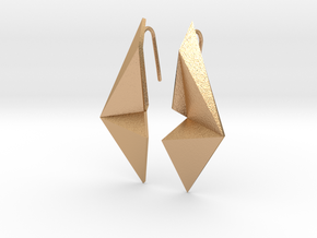 Sharp Enmotion Earrings in Natural Bronze
