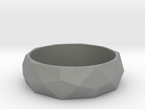 Angular Beauty Ring 22MM in Gray PA12