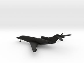 Cessna 750 Citation X in Black Natural Versatile Plastic: 6mm