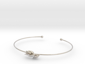 Wheat bracelet in Platinum