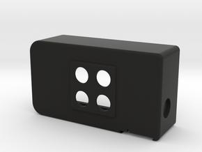 UECUL-T-07-2P-2SURF in Black Natural Versatile Plastic