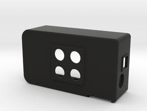 UECUL-T-07-2P-2SURF-UIC in Black Natural Versatile Plastic