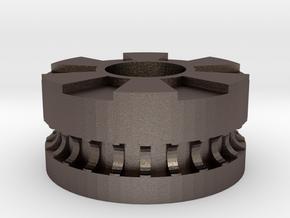 XYZ Da Vinci Idler (2 bearings) in Polished Bronzed-Silver Steel