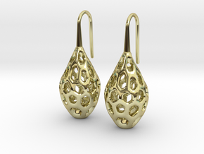 HONEYBIT Earrings.  in 18K Gold Plated