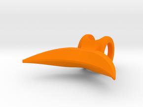 Av in Orange Processed Versatile Plastic