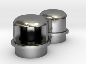 Navigation light Wellcraft SC38 Metal in Polished Silver: 1:10