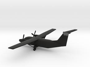 Cessna 408 SkyCourier in Black Natural Versatile Plastic: 1:200