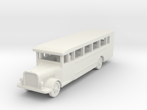Saurer polish 1939  1:120 in White Natural Versatile Plastic