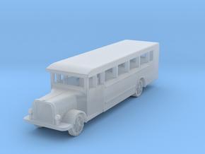 Saurer polish 1939 bus 1:200 in Smooth Fine Detail Plastic
