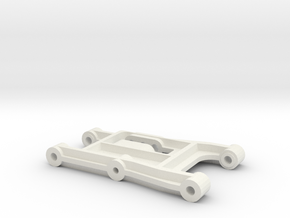 tamiya madcap front suspension arm in White Natural Versatile Plastic